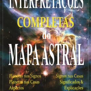 "Capa do E-book de Astrologia ""Interpretações completas do Mapa Astral"""