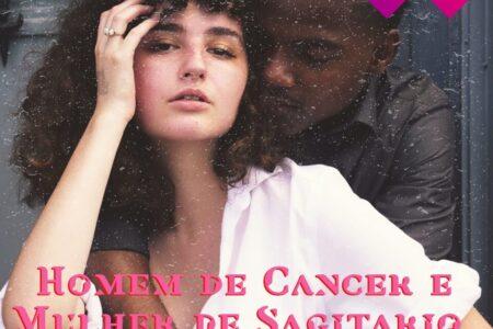 canceriano e sagitariana no amor