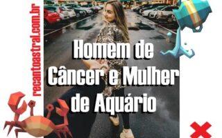 canceriano e aquariana como é combinação