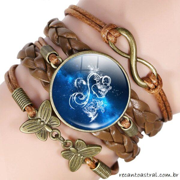 presente / bijuteria para aquariano / aquariana Signo de Aquário comprar