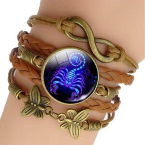 escorpiana presente pulseira