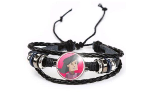presente pra ENTJ personalidade comandante bracelete pulseira