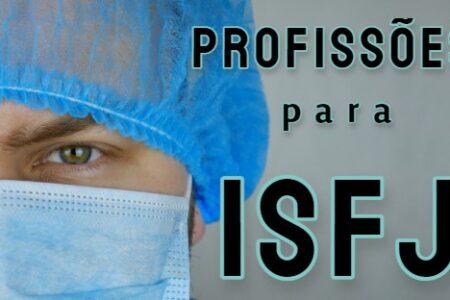 profissões para personalidade ISFJ