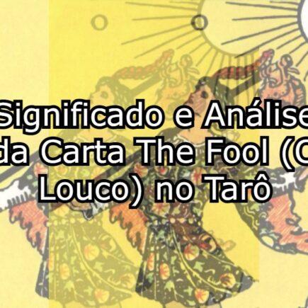 The fool no amor vida viagem